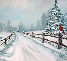 Winter Wonderland by Carolyn Andrews-Allred