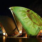Light Show Sydney Opera House by TimC