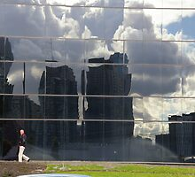 Who Melted The City Skyline? by David McMahon