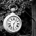 Old Clock by Leif Holmberg