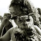 Speak quietly and carry an owl with you by Metadea