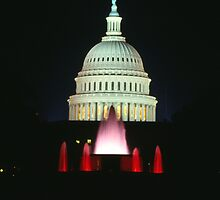Capital Fountains by Christopher  Boswell