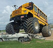 School bus bully by Larry  Grayam