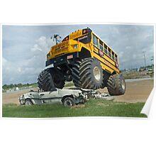 School bus bully Poster