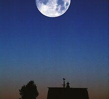 Nebraska Moon by Christopher  Boswell