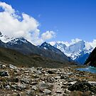 Longponga Tso by Richard Heath