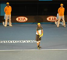 Rafael Nadal, Rod Laver Arena, Australian Open 2009 by HandyAndy