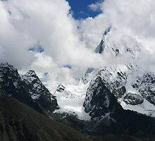 Arakamtse from Gokyo Ri by Richard Heath