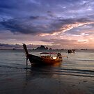 Krabi sunset by Tom  Marriott