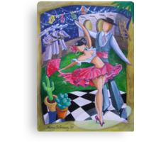 Spicy Salsa Dance Canvas Print