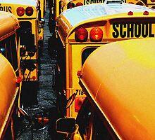 School Bus by Tom  Marriott