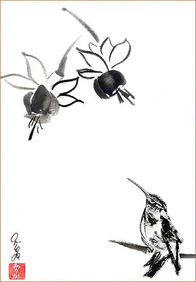 Kolibri & Fuchsia by Origa