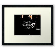 Tokyo Rockabilly Club  Framed Print
