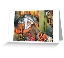 Persephone Greeting Card