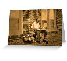 The Music Man Greeting Card