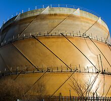 Gasometer III by Catherine Dipper