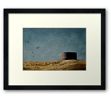 a waterless place Framed Print