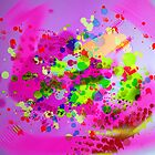 Abstract in Pink by Baye Hunter