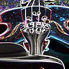 Glowing Violin by MaddyPaddy