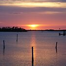 Sunrise over Misquito Lagoon by Peri