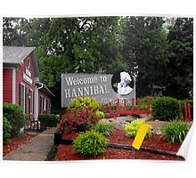 Welcome to Hannibal Missouri   Poster