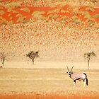 Oryx in NamibRand by Kimberley Mazzoni