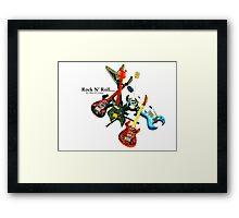 Rock N' Roll... Framed Print