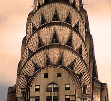 Chrysler Building detail by Tom  Marriott