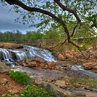 2074 - Reedy River Falls by Ray Mosteller