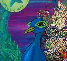 Peacock by Rachel Baumer