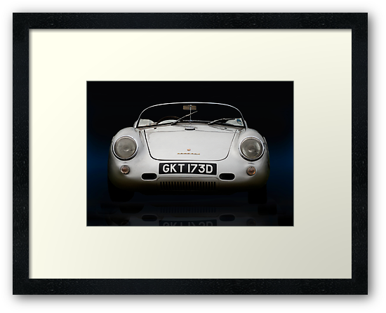 Porsche 550 Spyder by Paul Woloschuk