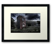 In the Event of an Emergency... Framed Print