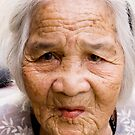 Elderly Vietnamese Lady by Kerry Dunstone