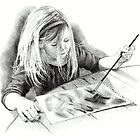 Realism Pencil Art by Joyce