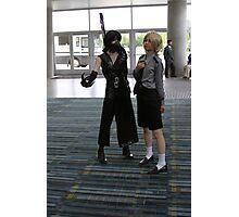 Two Cosplayers Photographic Print
