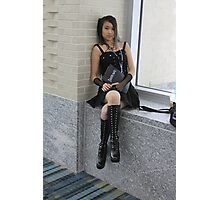Misa:  Don't Anger the Keeper of the notebook. Photographic Print