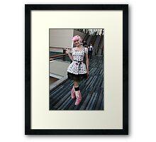 Cat Girls Subtle  Darkside  Framed Print