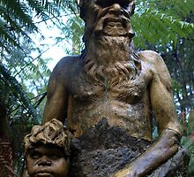 William Ricketts Sanctuary, Man and Boy by Richard Sanderson