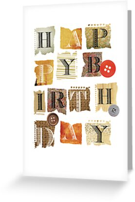happy birthday by Narelle Craven
