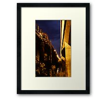Echuca at night 4 Framed Print