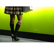 knee high socks Photographic Print