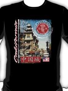 chinatown in san francisco T-Shirt