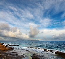 Sky and sea by Patrick Morand