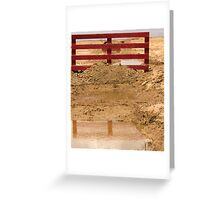 Another Obstacle to Overcome! Greeting Card