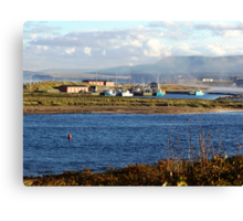Autumn Morning-Margaree Harbour Canvas Print
