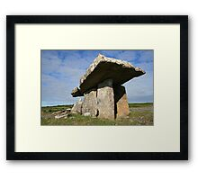 Summers morning at Poulnabrone Framed Print