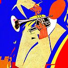 Trumpet Player by Philip Gresham