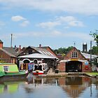 Canal Cruising Co, Stone Staffordshire. by Phil Mitchell