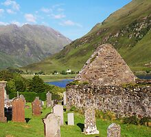 Clachan Duich Church Cemetery by Richard Hanley www.scotland-postcards.com