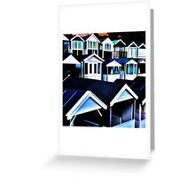 Round the Houses Greeting Card